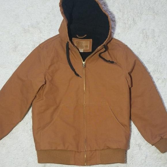 Mens Heavy Duty Work Warm Jacket Sz Sm